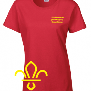 11th Nuneaton Scout Uniform LF Tshirt