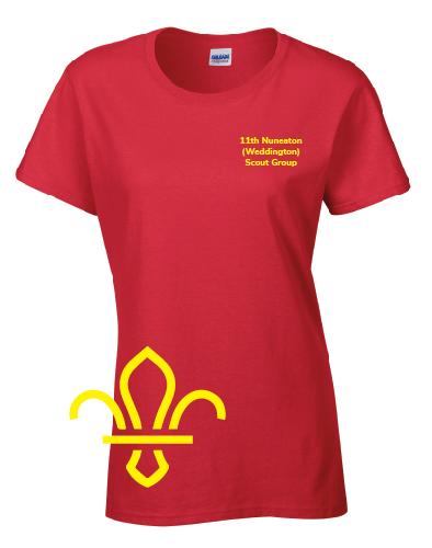 11th Nuneaton Scout Uniform LF Tshirt