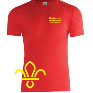 11th Nuneaton Scout Uniform Sport T-Shirt