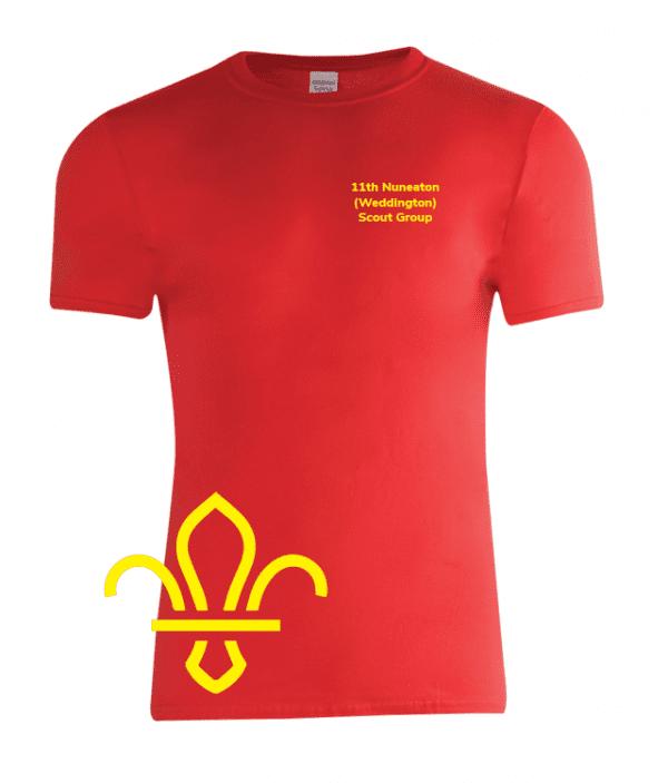 11th Nuneaton Scout Uniform Sport T-Shirt