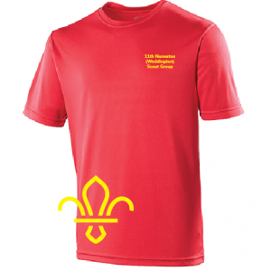 11th Nuneaton Scout Uniform T-Shirt