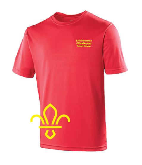 11th Nuneaton Scout Uniform T-Shirt