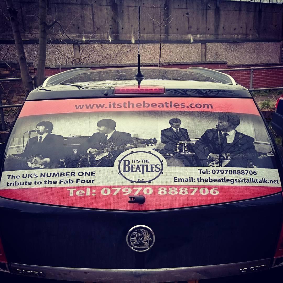 Beatles Window Wrap