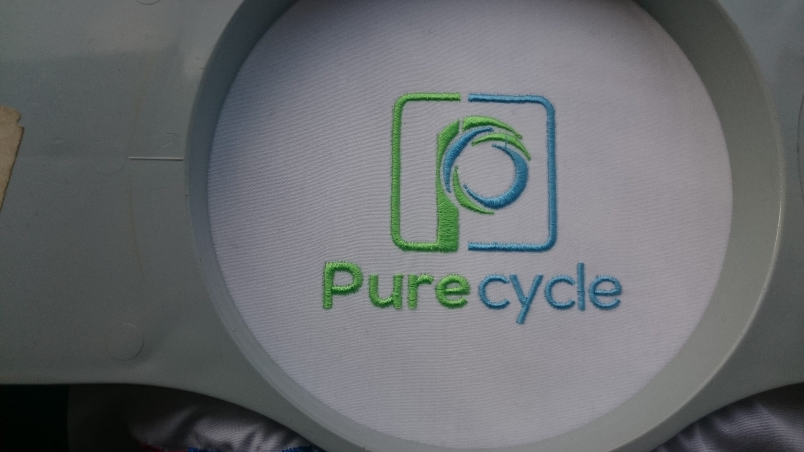 Pure Cycle Embroidered Logo