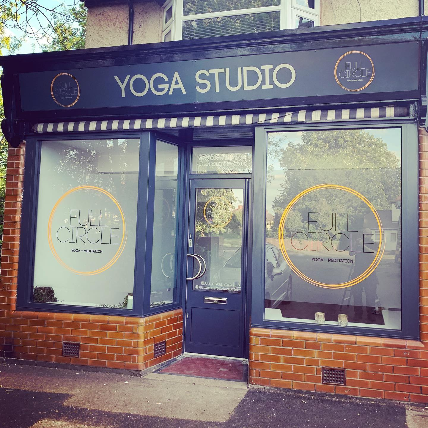 YOGA Studio Shop Front Signage
