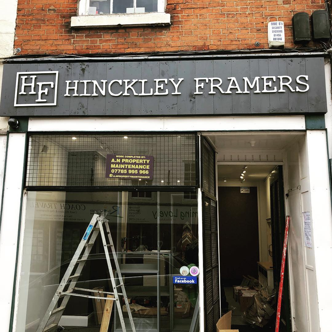 Bespoke Shop Signs