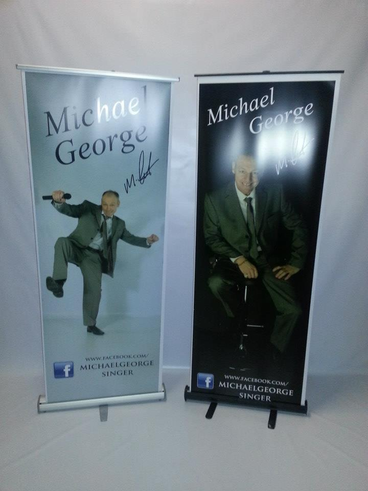 Singer Pull Up Banners