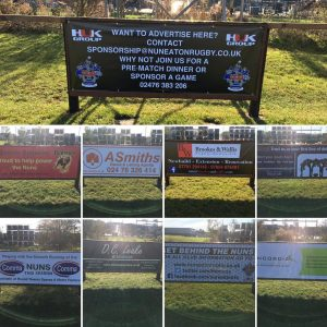 Full Colour Printed Banners