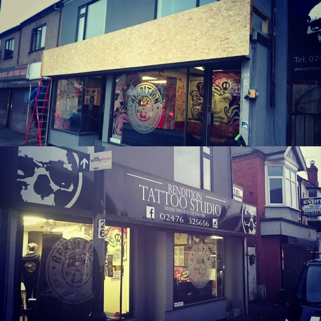 Custom Shop Front & Sign