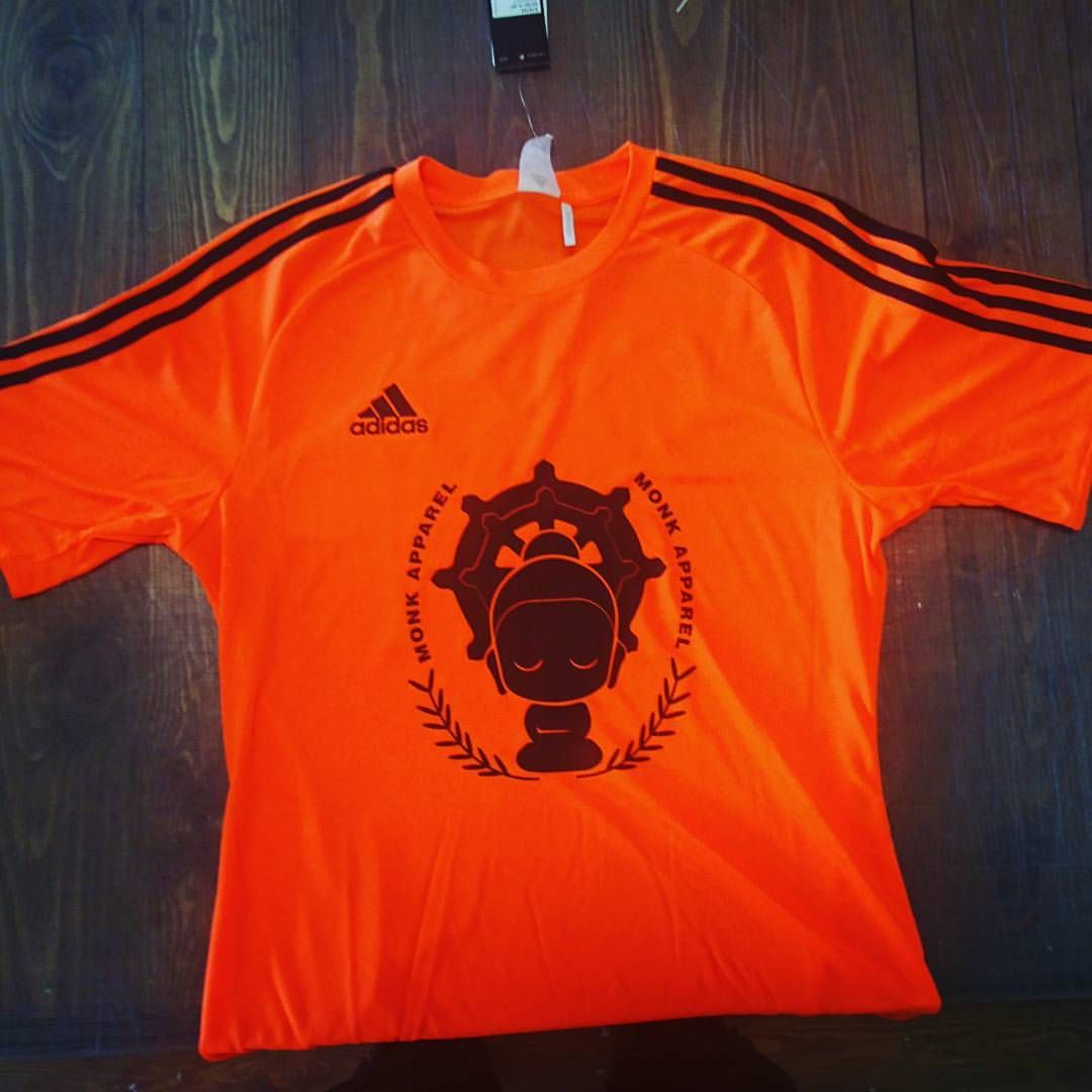 Monk Apparel Football shirt