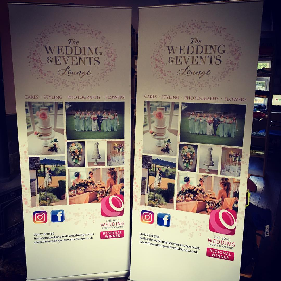 Wedding Pull Up Banners