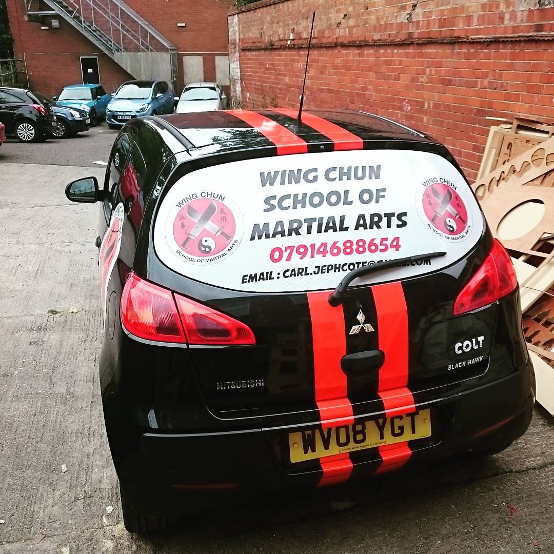 Wing Chun Car Wrap