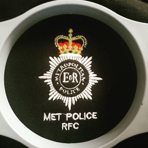 Met Police RFC Embroidery