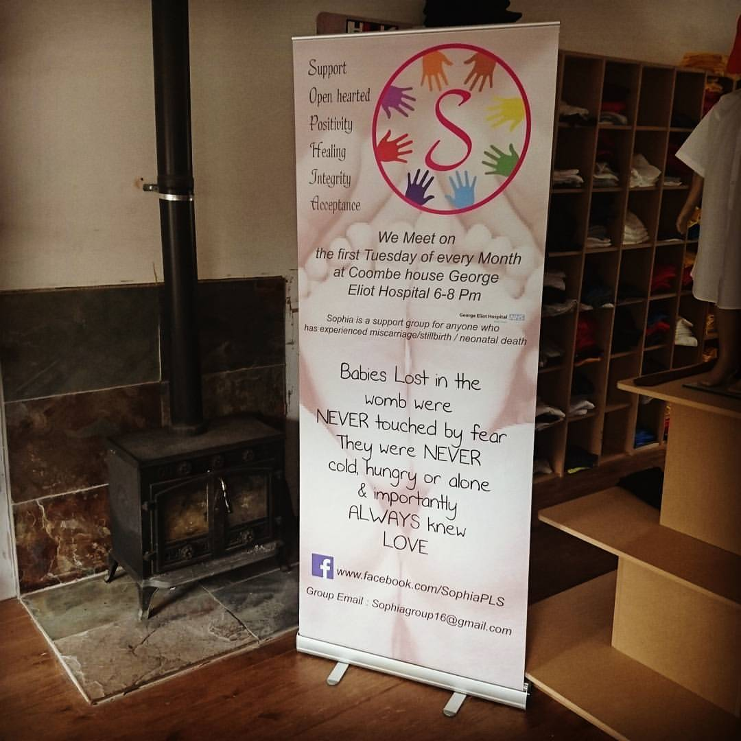Charity Pull Up Banners