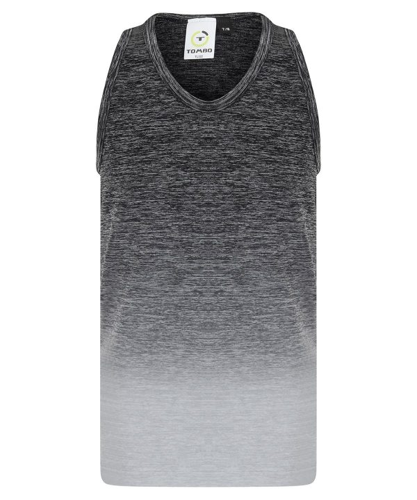 Kids seamless fade-out vest