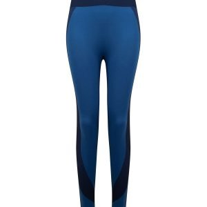 Women's seamless panelled leggings