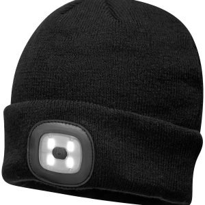 Beanie LED headlight USB rechargeable