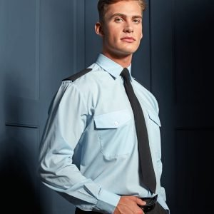 Long sleeve pilot shirt