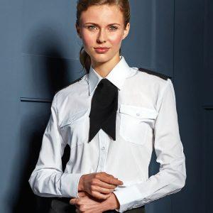 Women's long sleeve pilot shirt