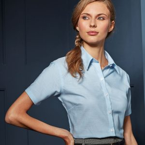 Women's signature Oxford short sleeve shirt