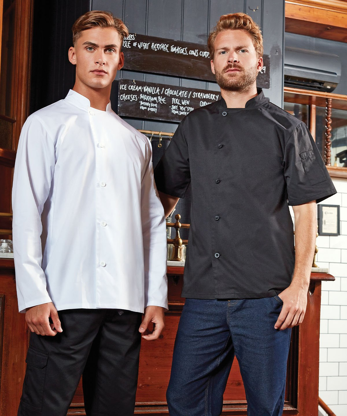 Chef's essential short sleeve jacket