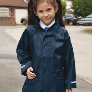 Core junior rain jacket