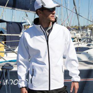 Core printable softshell jacket